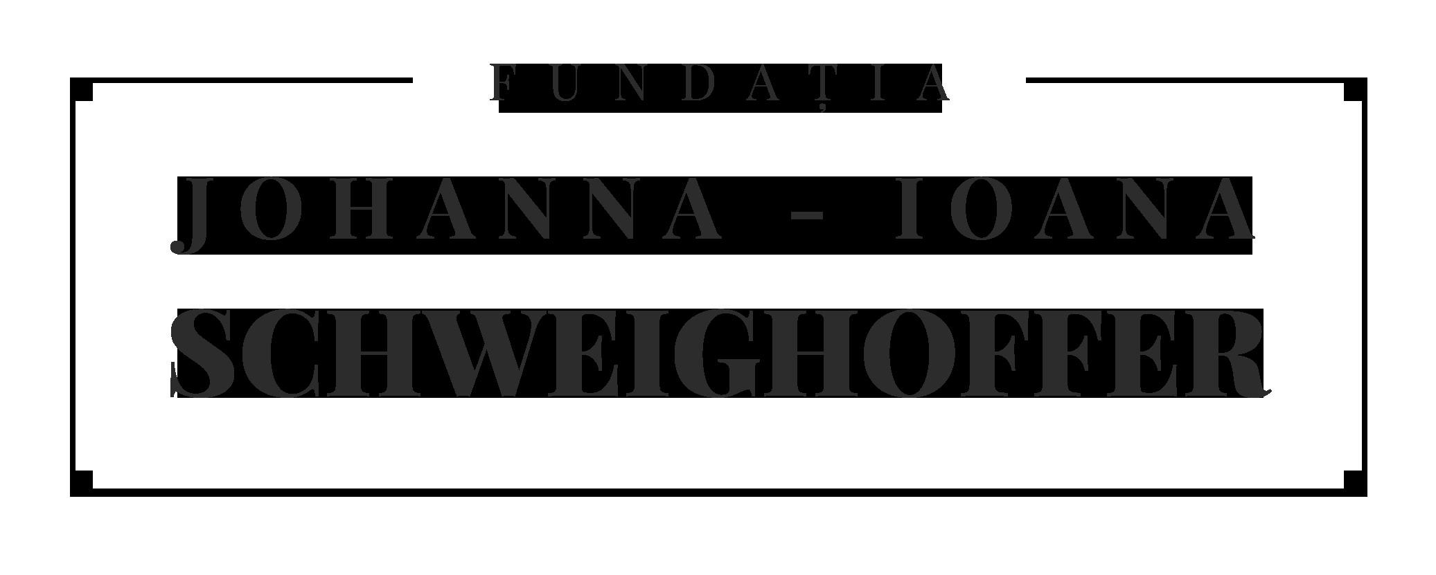 Fundația Johanna-Ioana Schweighoffer